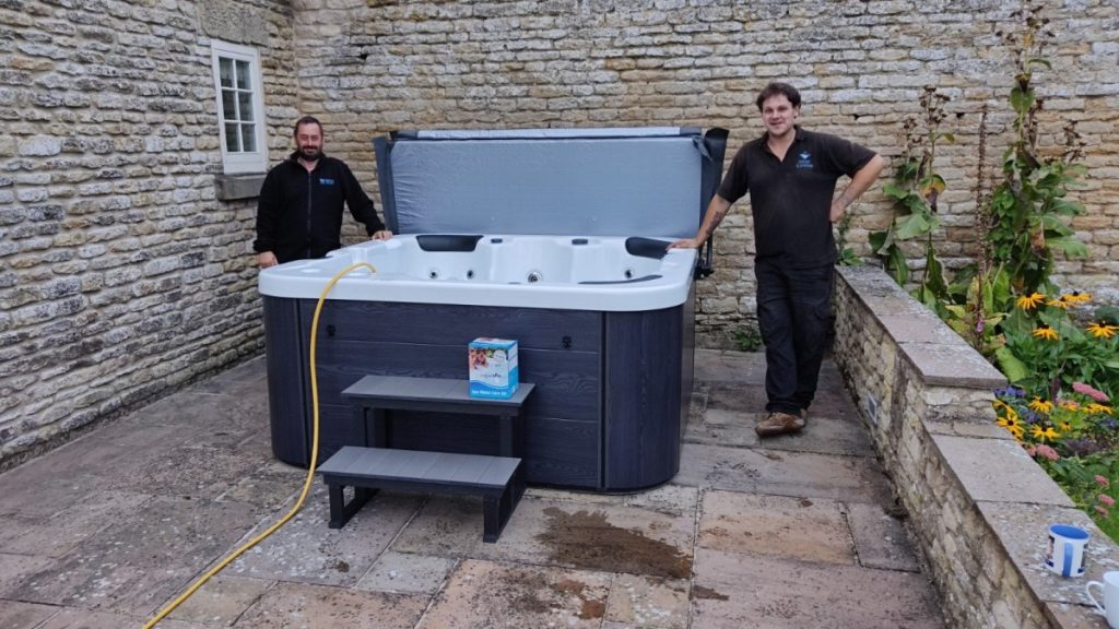Customer Hot Tub Installs