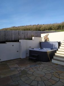 New Hot Tub Install in Lancashire
