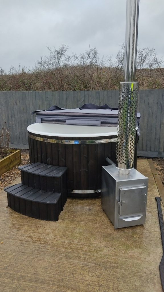 Wood Fired Hot Tub Scarborough 3rd December 2020