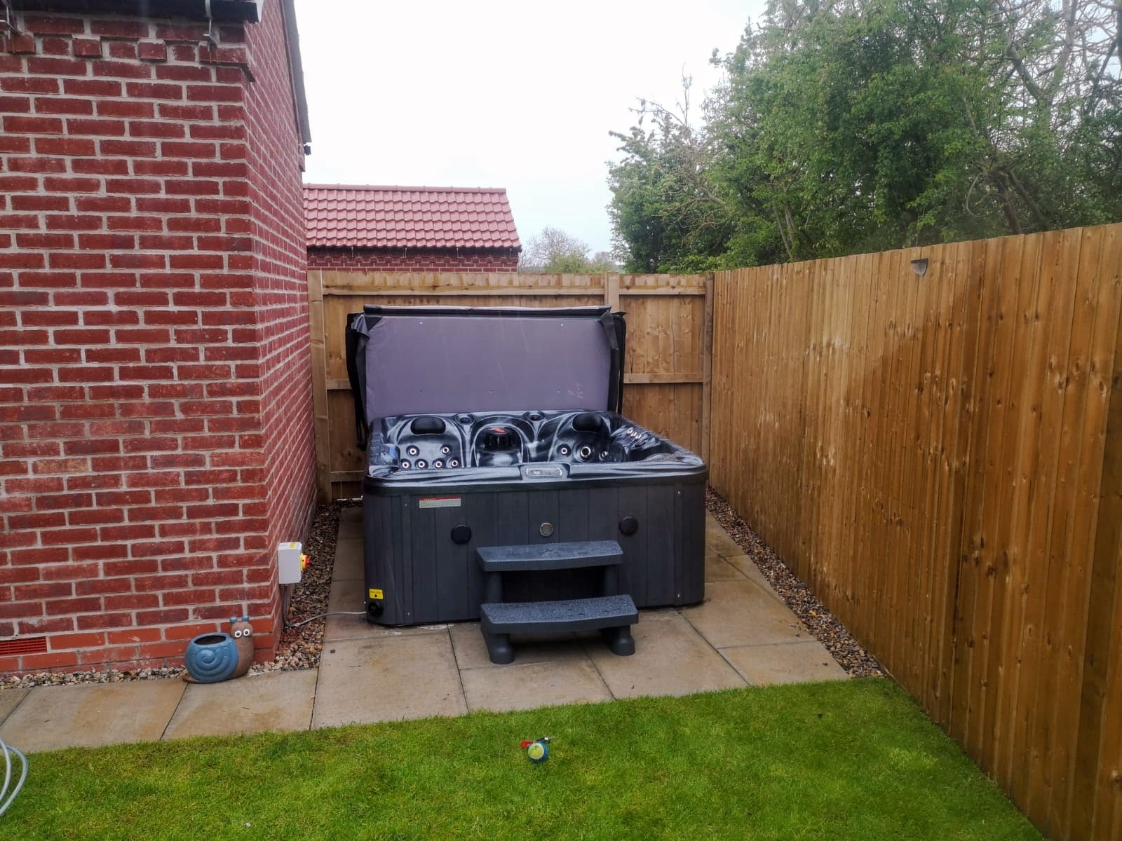We installed the fabulous Storm for Claire in Bridlington this