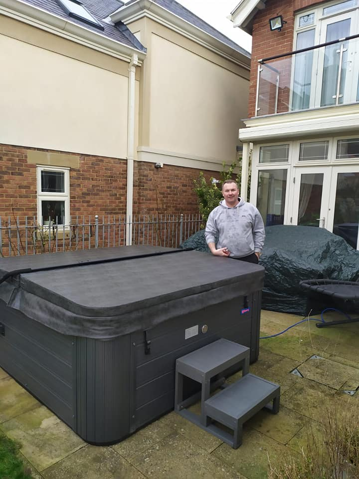 Cody and Paul were in Sandsend this morning to install