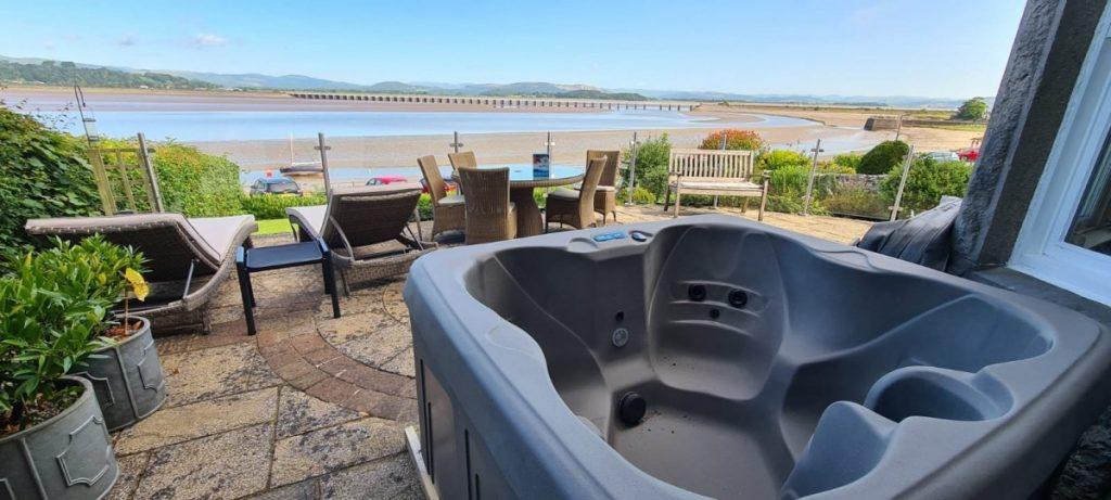 New Malibu Hot Tub Install - Carnforth - July 21