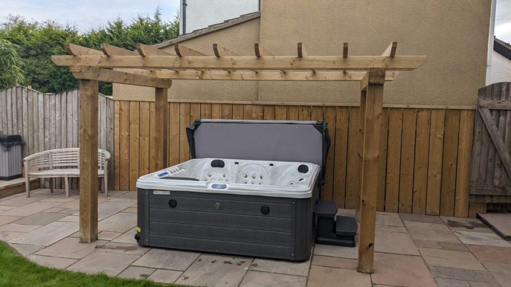 New High Spec Norfolk Hot Tub Install